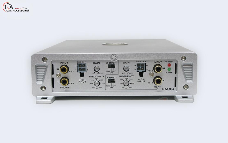 DLS AMP-RM40 Car Amplifier