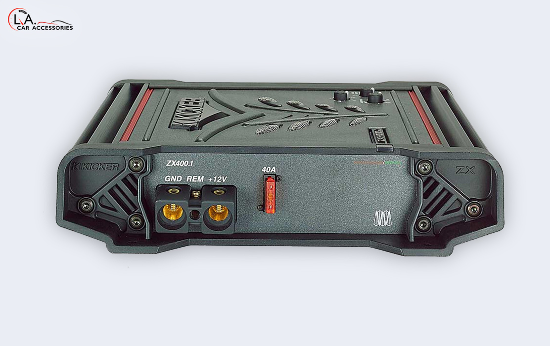 KICKER ZX 400.1 Car Amplifier