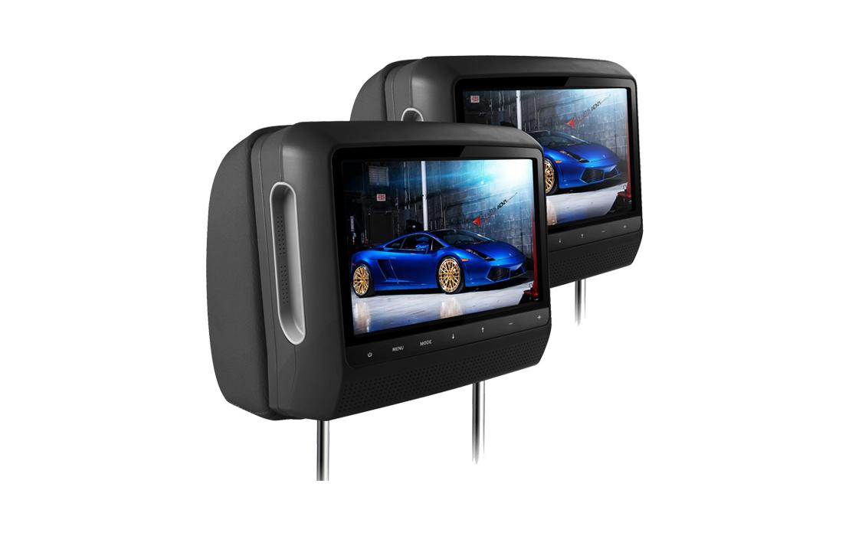 XTRONS HD901 2×9″ Digital Screen Headrest Pillow Monitors