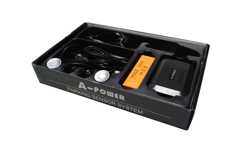 2 Sensors Buzzer Type Silver Color