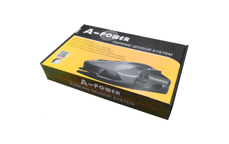 4 Sensors Buzzer Type ( Black, Silver & White )