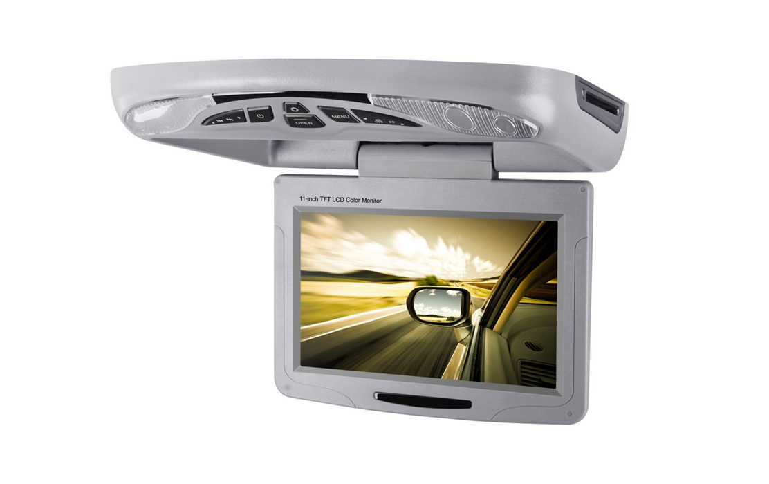 XTRONS10.1 INCH HD, TFT Flip down Roof Mounted DVD Player