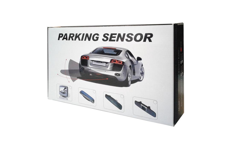 2 Rear Sensor Mirror OEM Black