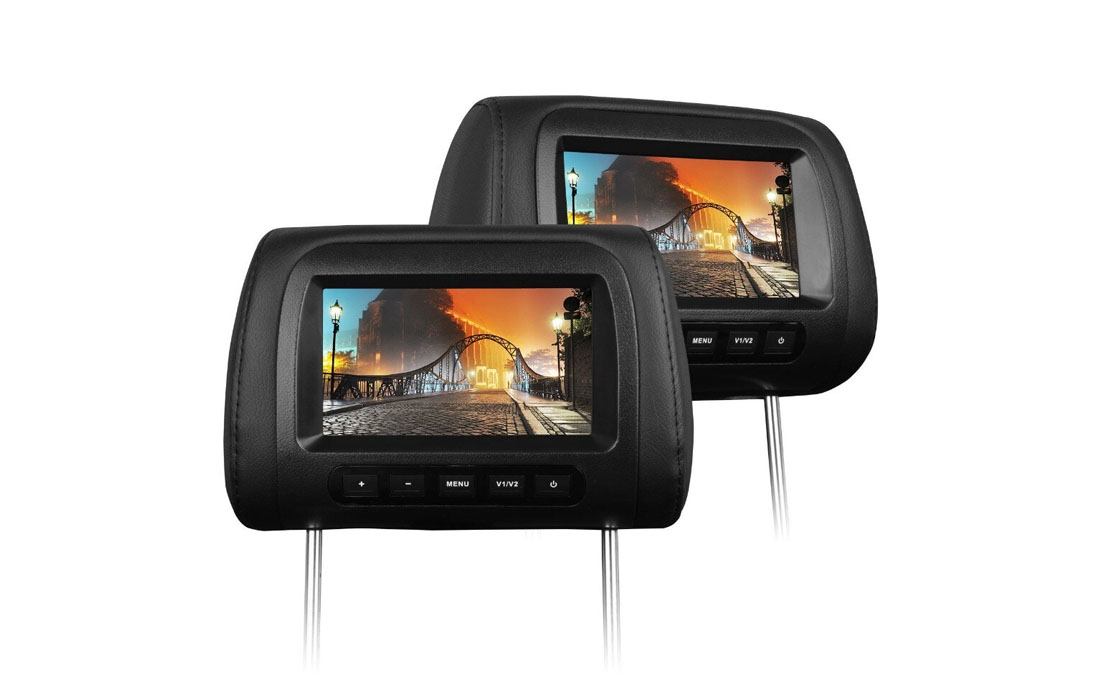 7″ TFT – LED MONITOR Headrest