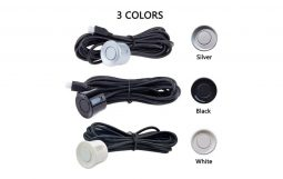 2 Sensors Indicator Type ( Black, Silver & White )