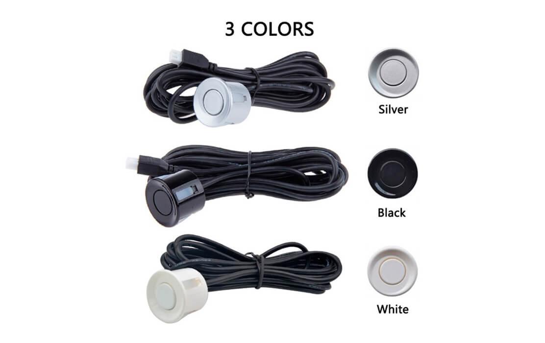 2 Sensors Indicator Type ( Black, Silver & White )