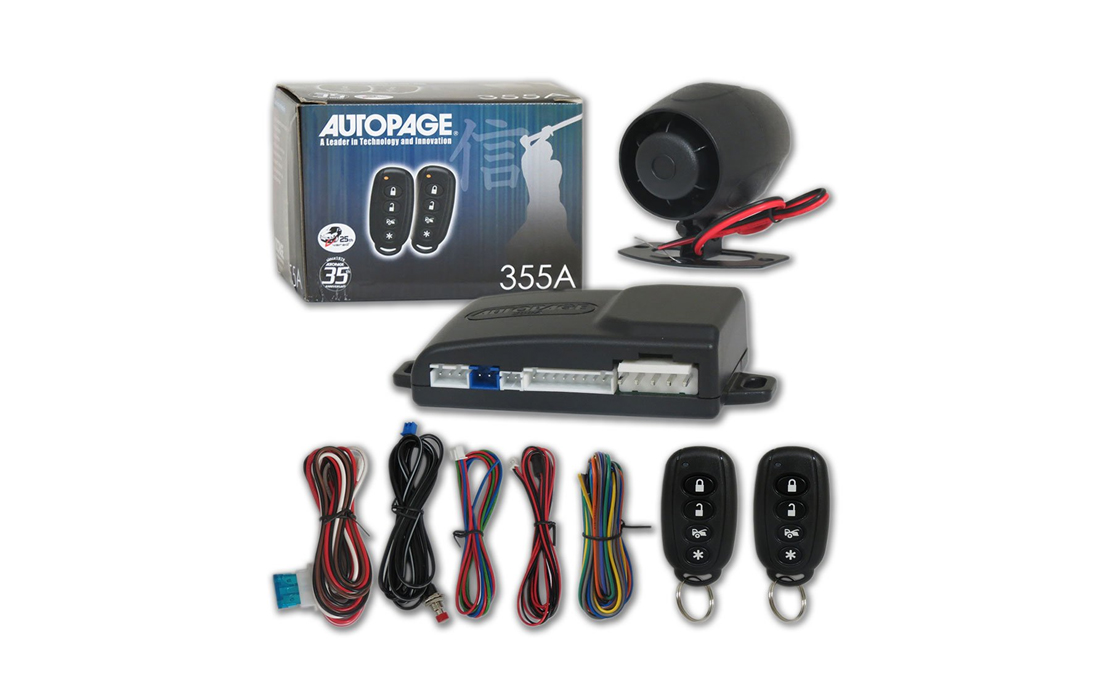 AUTOPAGE 355A Security Alarm