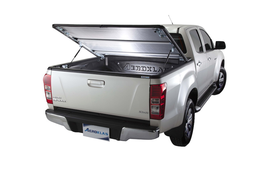 Aeroklas Softcover Lift & Roll for Isuzu Dmax