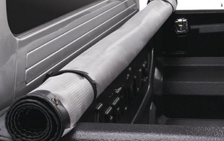 Aeroklas Softcover Lift & Roll for Nissan Navara