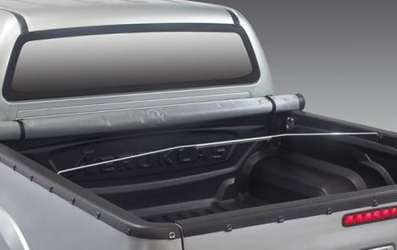 Aeroklas Softcover Snap and Clip for Nissan Navara
