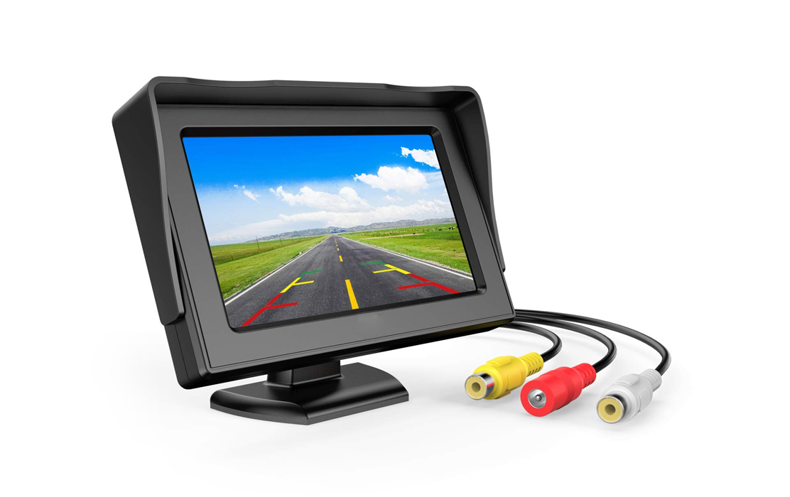 Car Rear View LCD Monitor with Camera