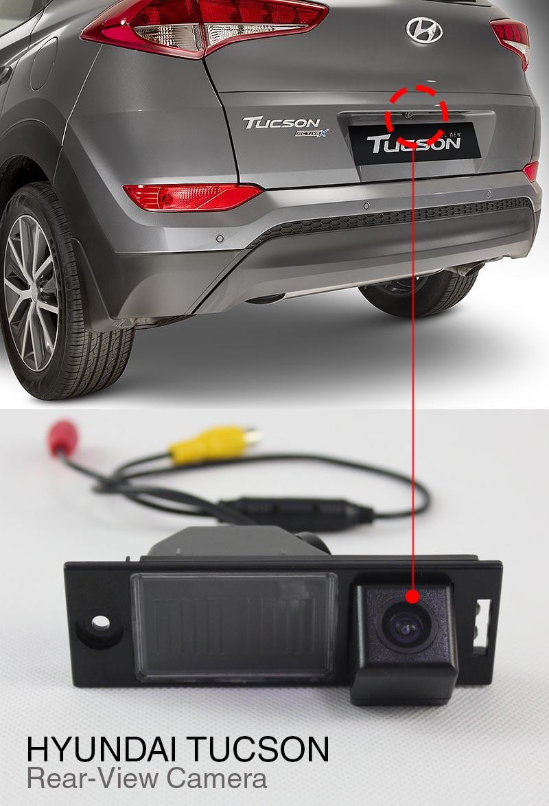 Hyundai Tucson 2012 2014 Oem Reverse Camera1 Description
