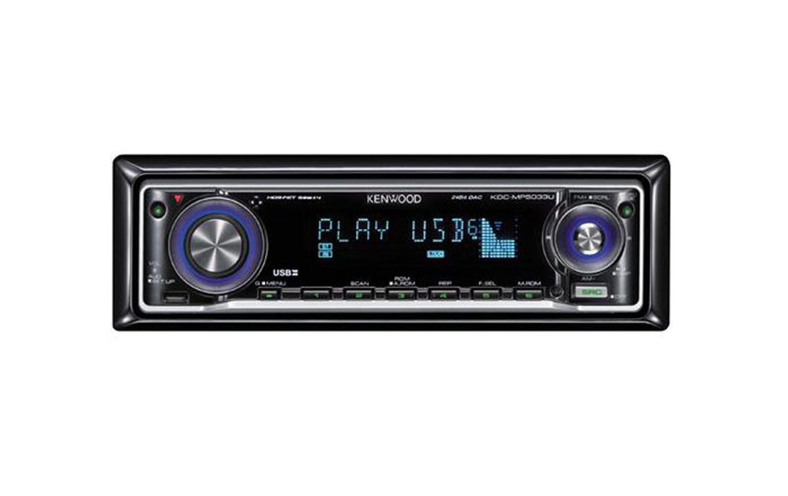 KENWOOD KDC MP5033U Car CD/MP3 Receiver