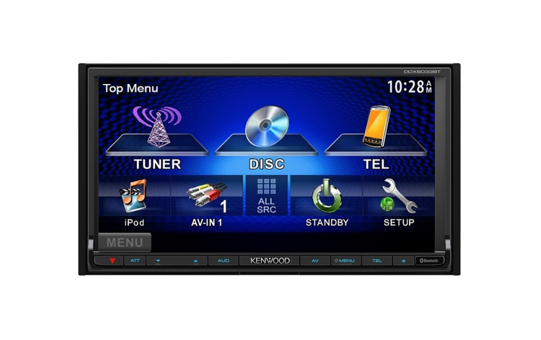 Kenwood DDX6033 Car DVD Stereo