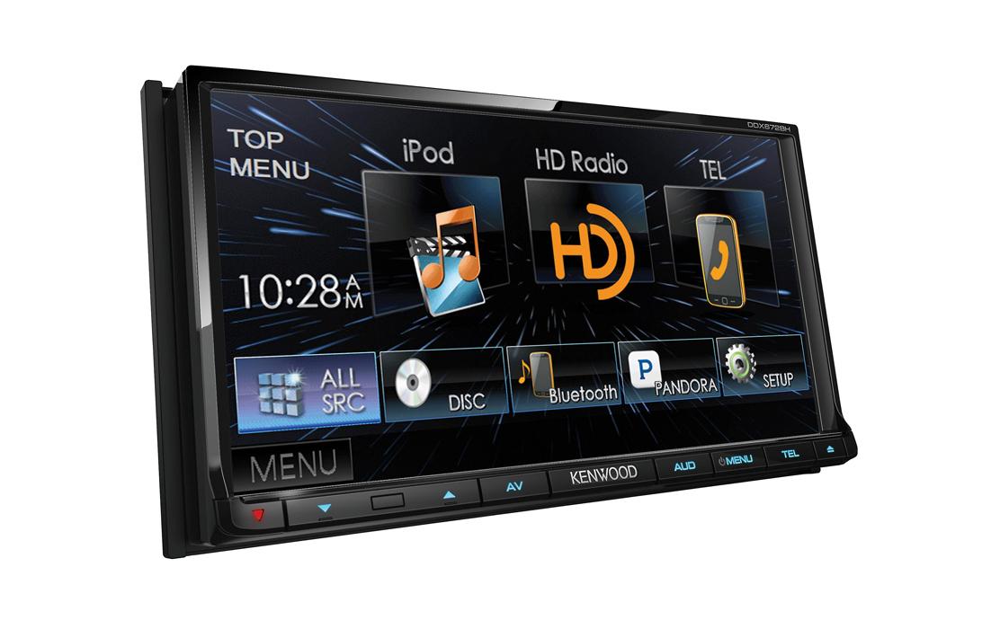 Kenwood DDX672BH Car DVD Stereo