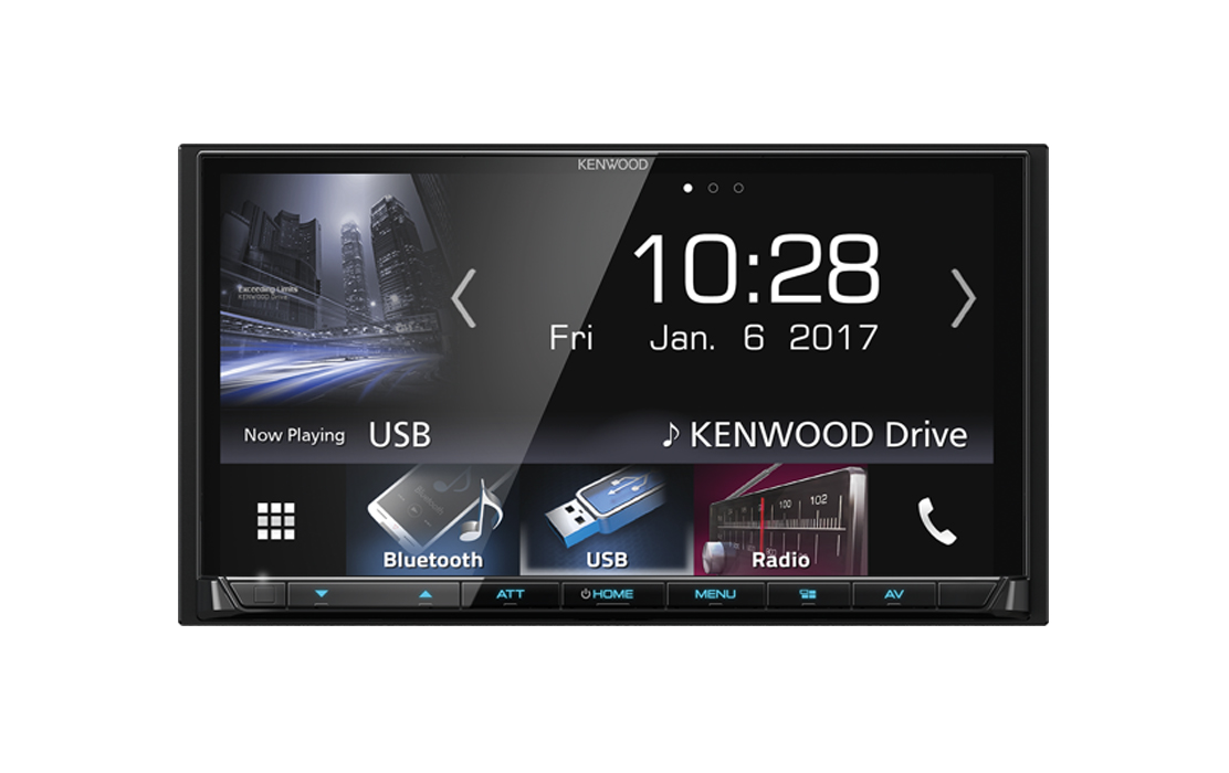 Kenwood DDX7017BT Car DVD Stereo