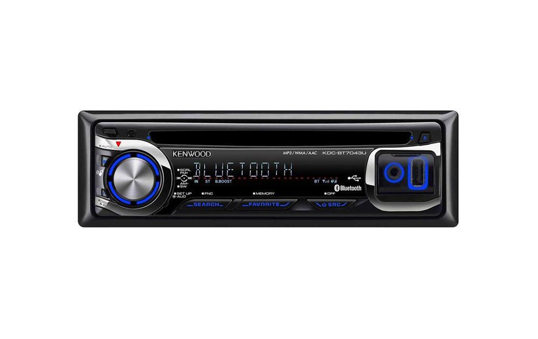 Kenwood KDC BT7043U Car CD/MP3 Receiver