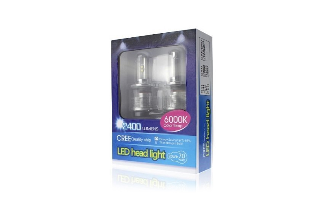 Cree LED Headlight H4 High and Low