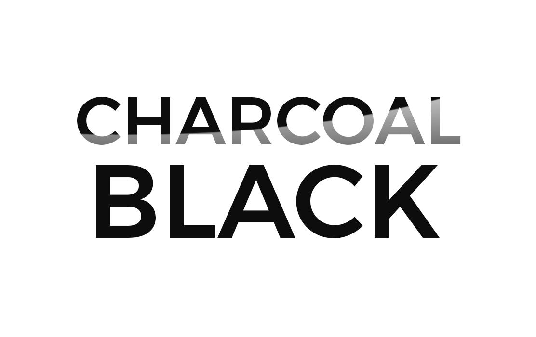 Logo Charcoal Black