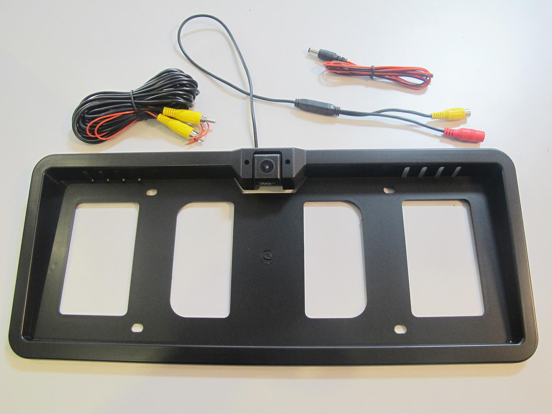 O.e.m. Plate Holder With Reversing Camera Description