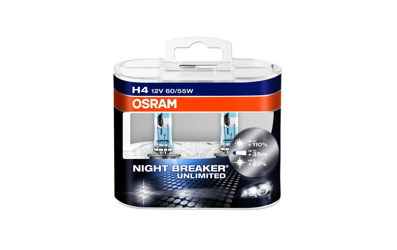 OSRAM – Night Breaker H4 Headlight Bulb