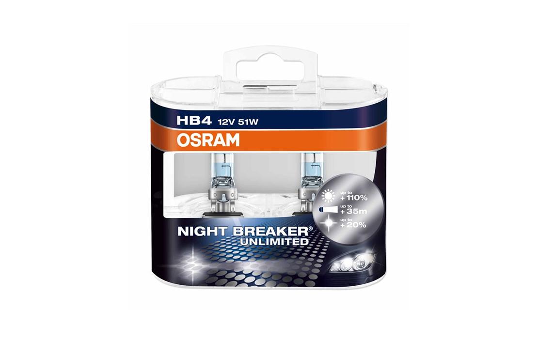 OSRAM – Night Breaker HB4 Headlight Bulb