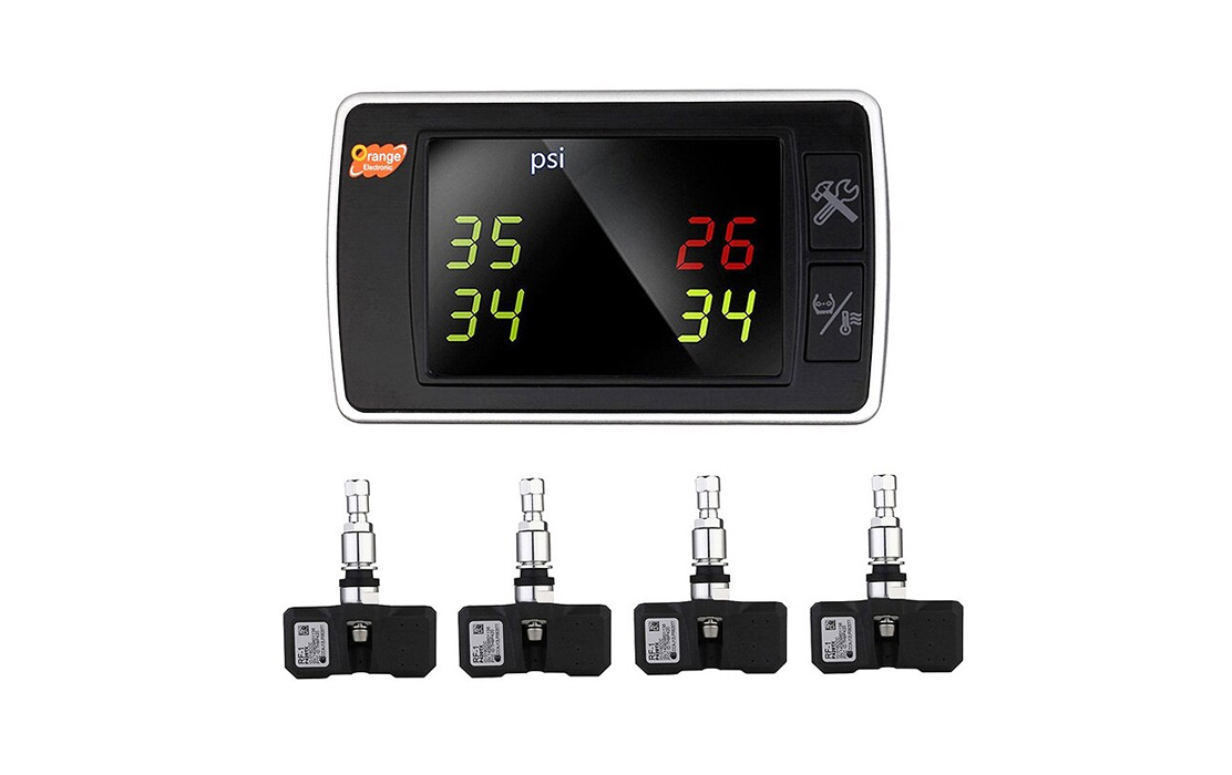 Orange Wireless Tire Pressure Monitoring System