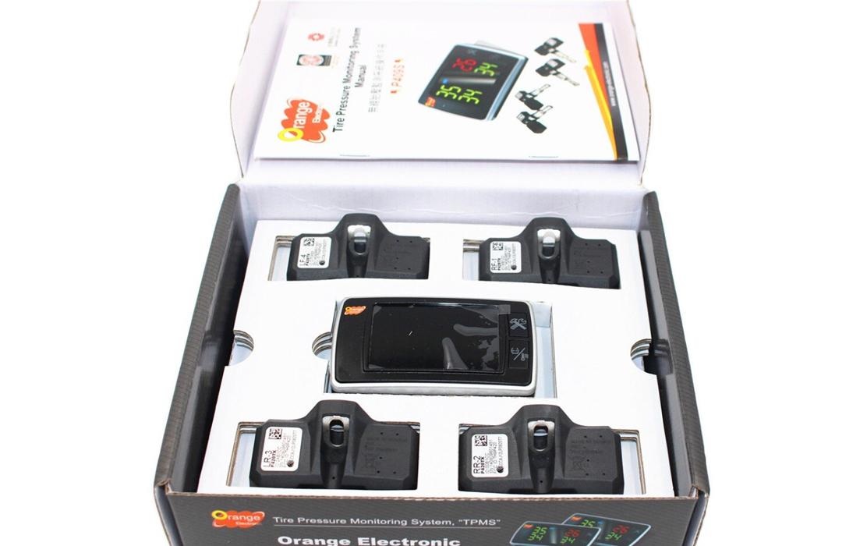 Orange Wireless Tire Pressure Monitoring System