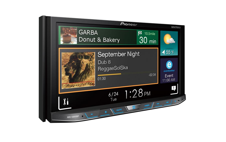 PIONEER AVH-X8850BT CAR DVD Stereo