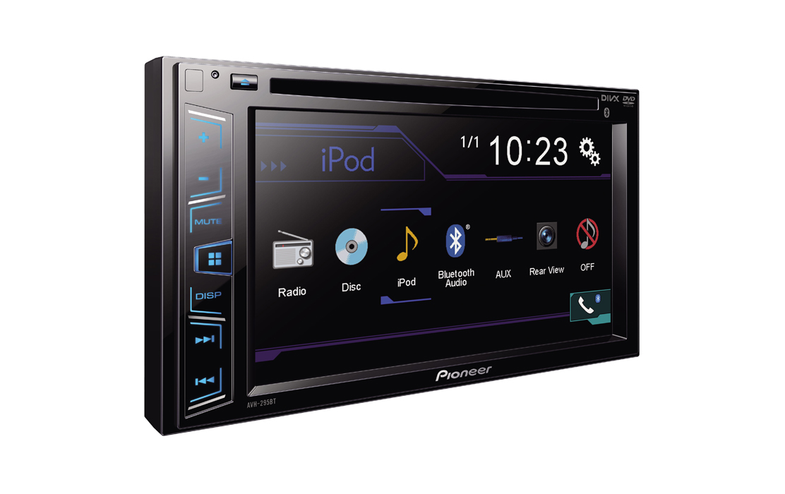 Pioneer AVH 295BT Car DVD Stereo