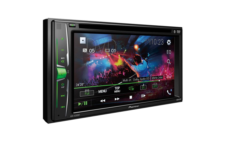 Pioneer AVH-A205BT Car DVD Stereo