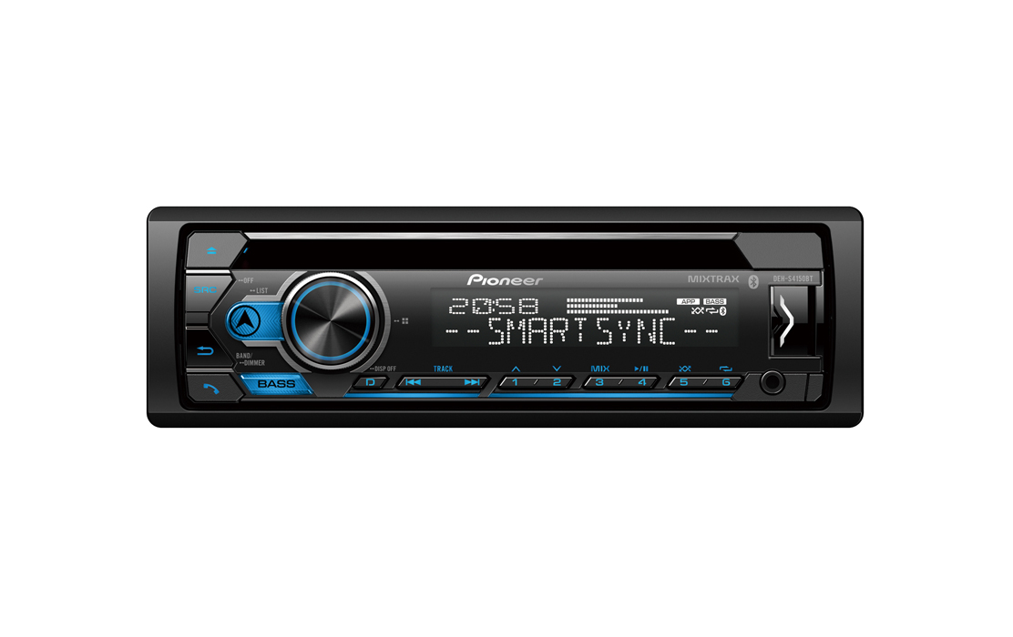 Pioneer DEH-S4150BT Car DVD/MP3 Receiver