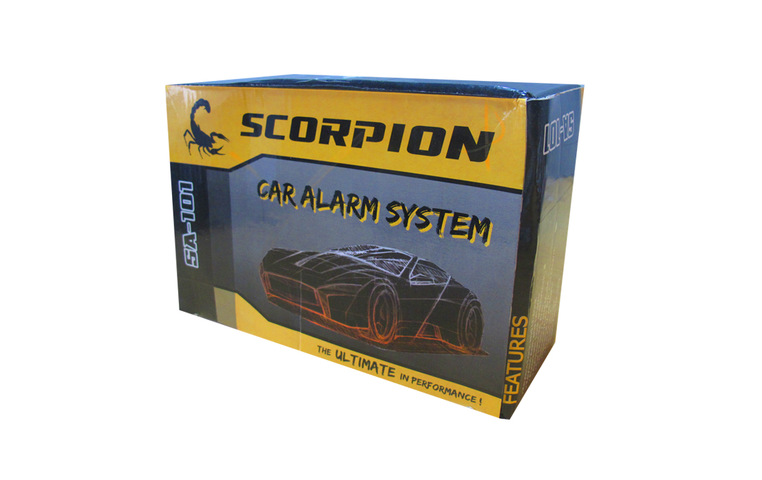 SCORPION SA-101 car Alarm System