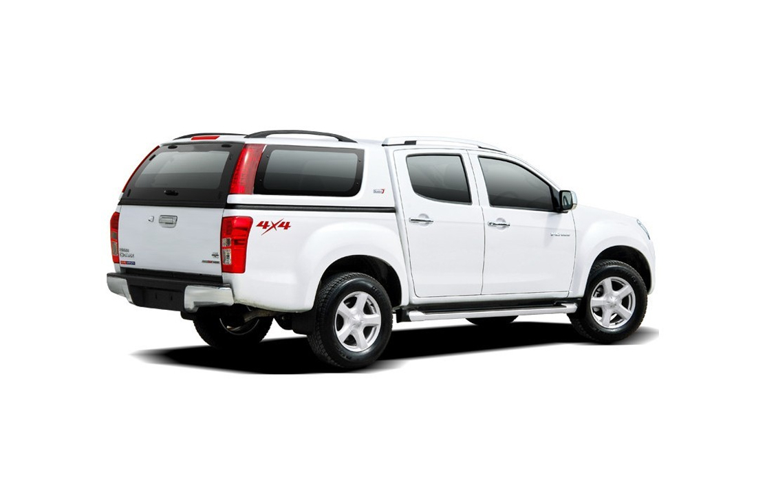 Smart Fiberglass Canopy for Isuzu Dmax