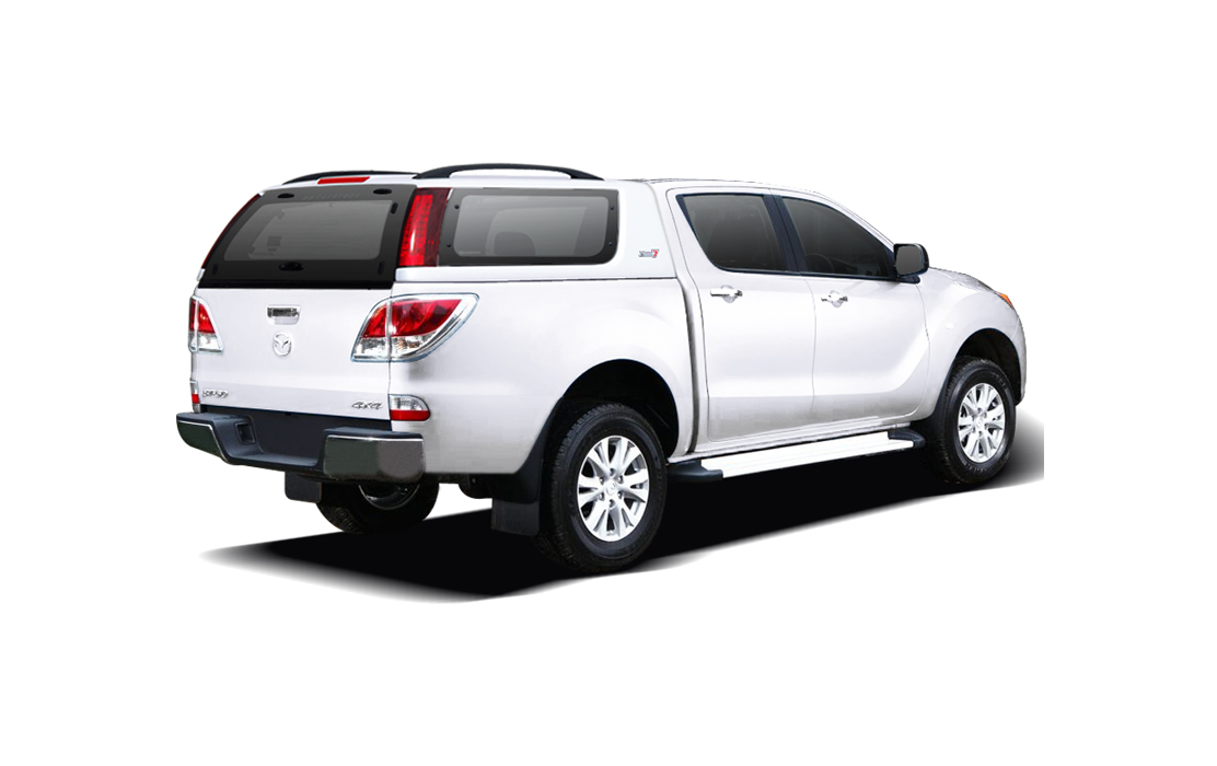 Smart Fiberglass Canopy for Mazda BT