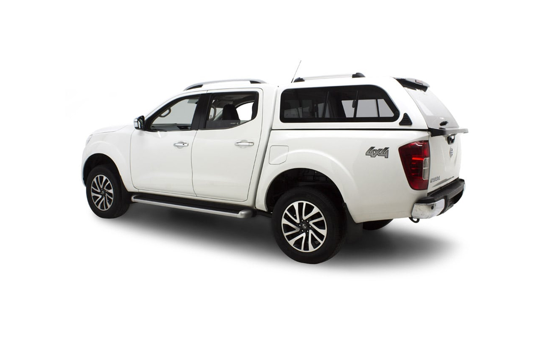 Smart Fiberglass Canopy for Nissan Navara