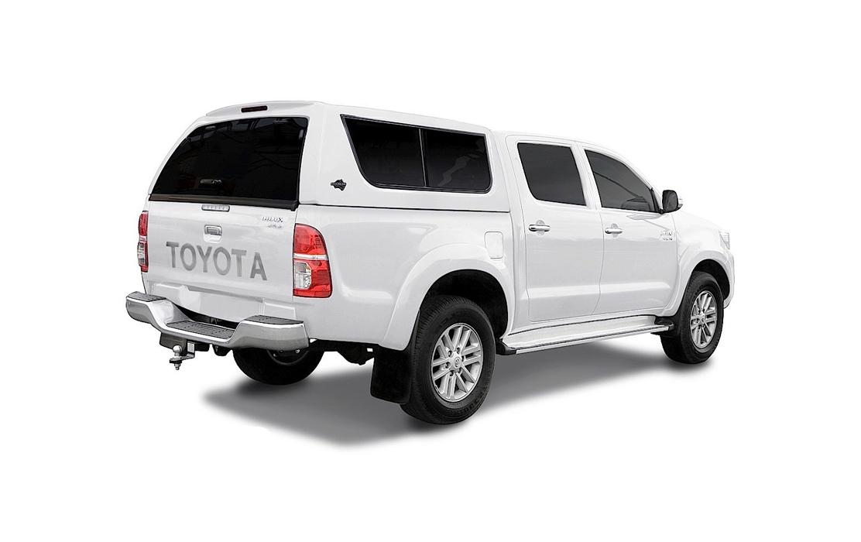Smart Fiberglass Canopy for Toyota Hilux