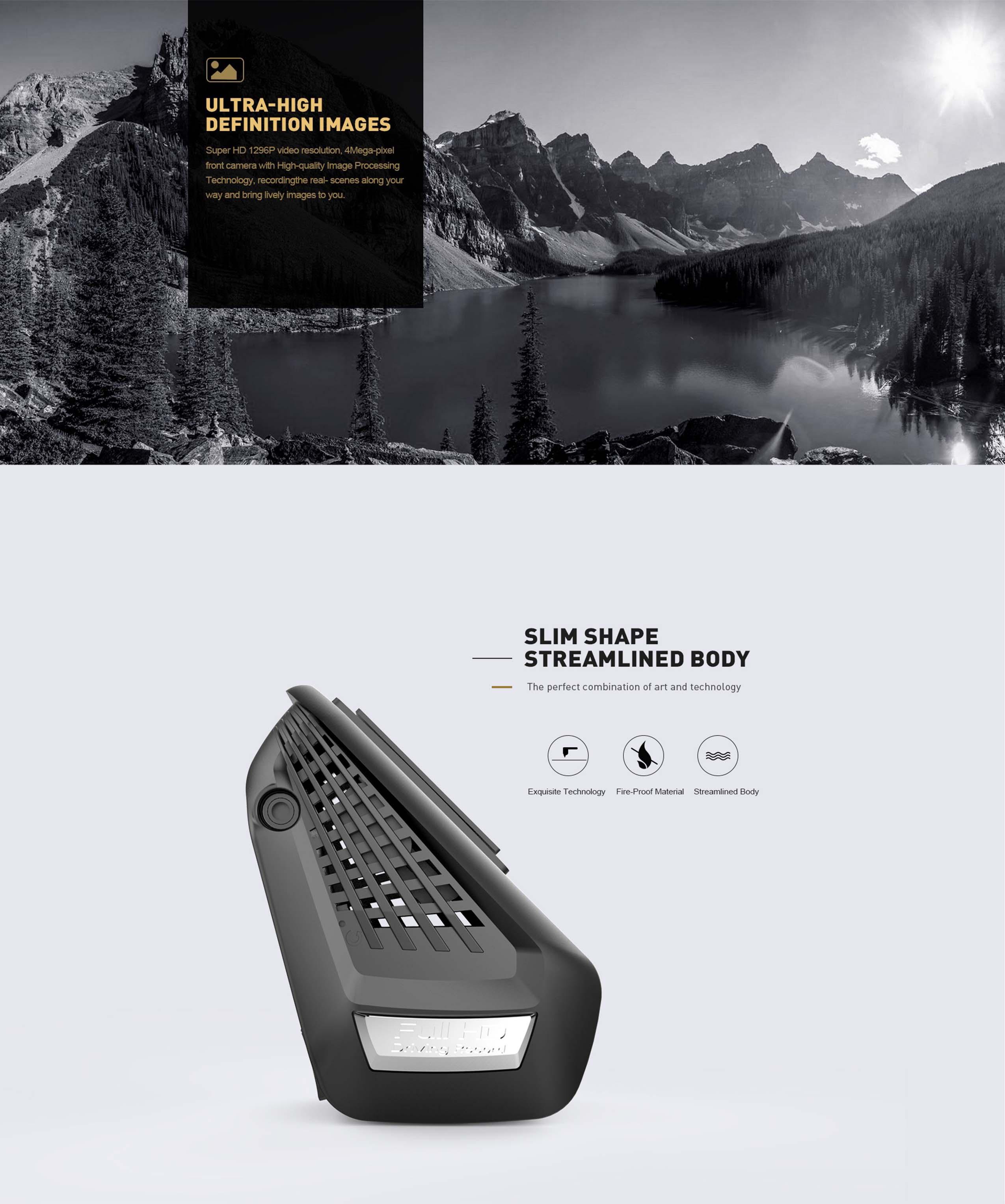 Merrill Cr3000s Dual Camera Dash Cam L A Car Accessories
