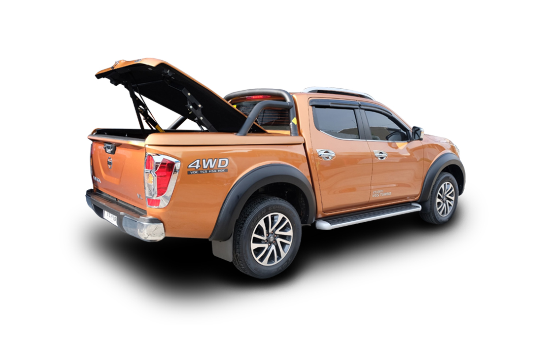 Top Up Deckcover Hydraulic Lift For Nissan Navara