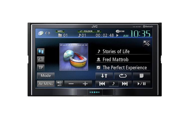 Jvc Av70bt Car Dvd 2